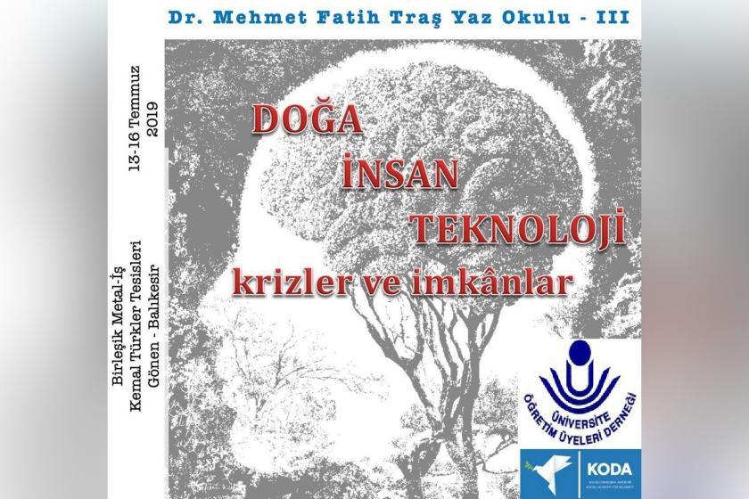 Dr. Mehmet Fatih Traş Yaz Okulu başlıyor