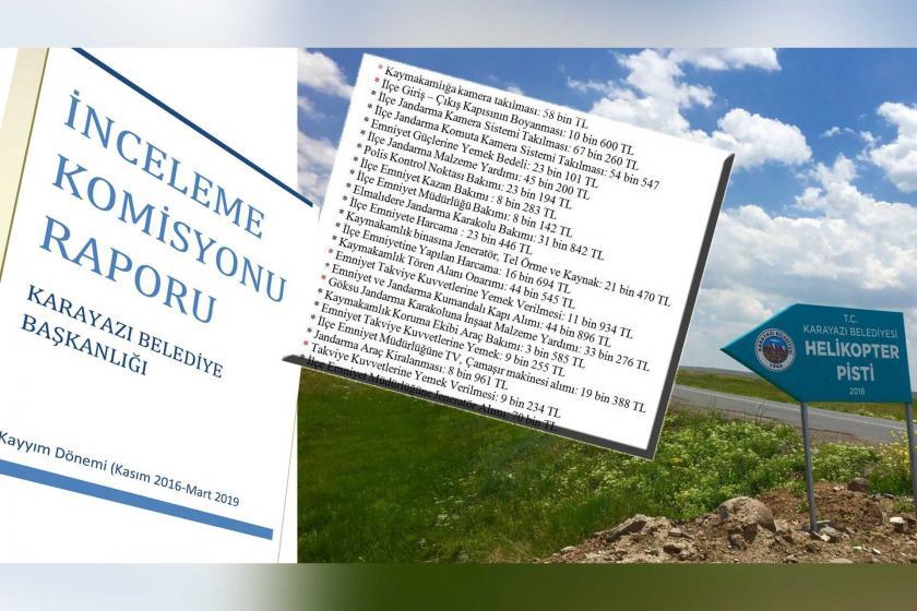 Karayazı Belediyesinde bütçe halk için değil, karakol için kullanılmış
