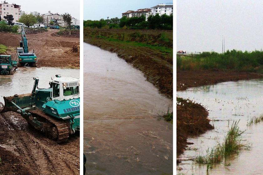 Milyonlar harcayıp doğal nehri bataklığa çevirdiler