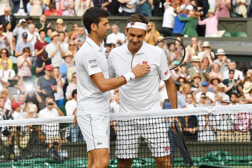 Djokovic-Federer arasındaki Wimbledon finali tarihe geçti