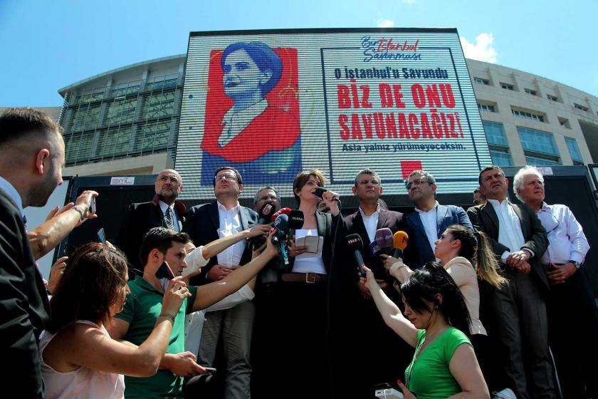 Canan Kaftancıoğlu'nun yargılandığı duruşma 6 Eylül'e ertelendi