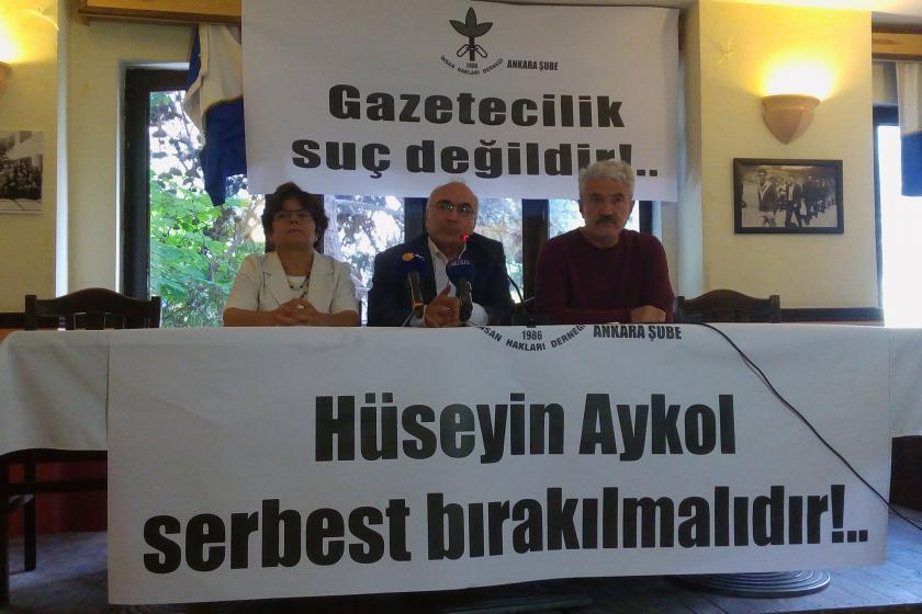 İHD'den Gazeteci Hüseyin Aykol için açıklama: Serbest bırakın