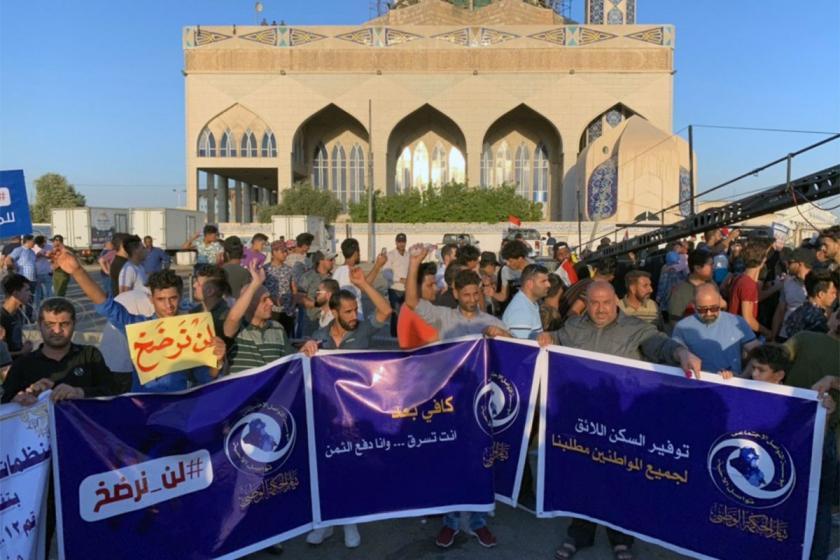 Irak'ta Şii muhalefetten yolsuzluk protestosu