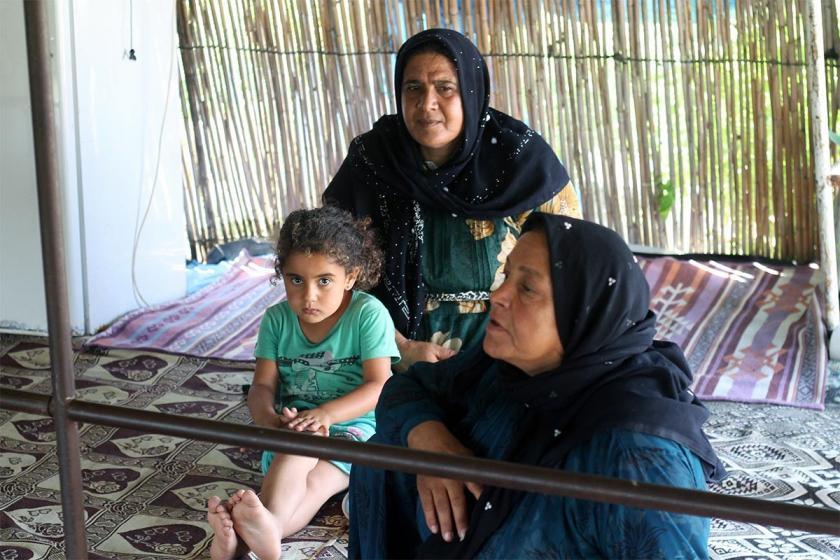 Tarım işçisi kadınların gerçeği çadır, hayali beton ev!