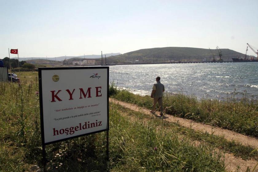 Kyme Antik Kenti, Nemport AŞ limanı uğruna yok edilmek isteniyor