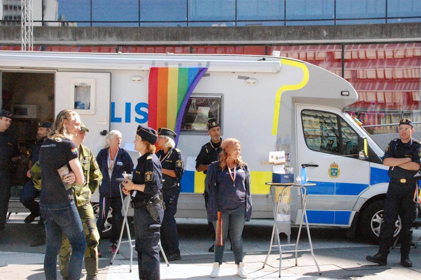 İsveç'te sendikalar LGBTİ+'ların haklarını tartışıyor
