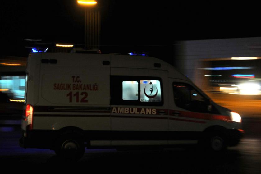 Nazilli'de kamyon kasasındaki boya kazanı patladı, 5 işçi yaralandı