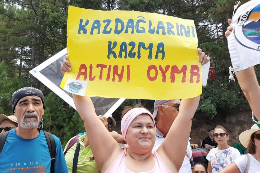 İzmir'den Kaz Dağları'na yürüyüş