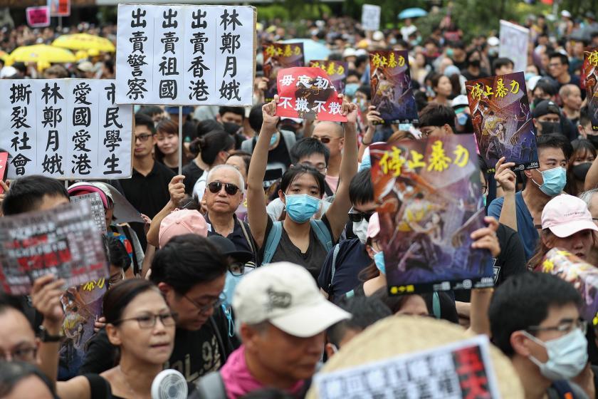 Genel grev, Hong Kong gösterileri işçi sınıfının girişine işaret ediyor