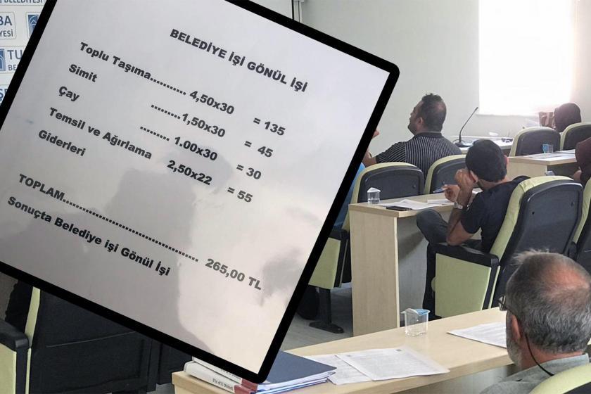 Tuşba Belediye Başkan yardımcısının maaşı belirlendi: Günde 1 çay, 1 simit!