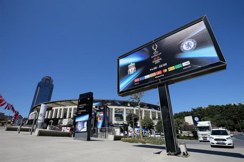 UEFA Süper Kupa maçından beklenti 100 milyon avro