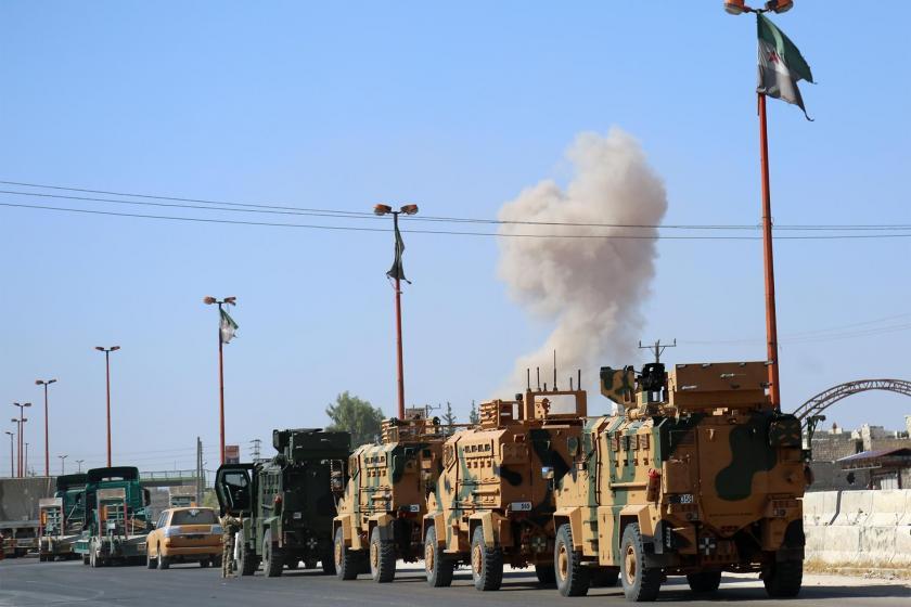 TSK'nin gözlem noktası Suriye ordusunun kuşatması altında