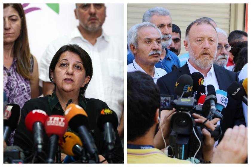 HDP Eş Genel Başkanları ve 3 milletvekili hakkında soruşturma başlatıldı