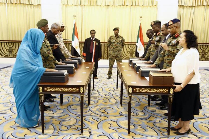 Sudan'da Devlet Başkanlığı Konseyi üyeleri yemin etti