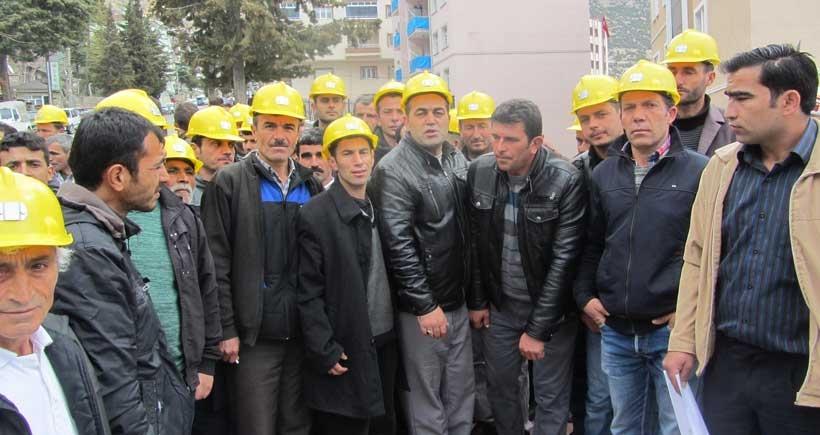 Ermenek'te işçilerden eylem: Devlet sözünü tutmadı