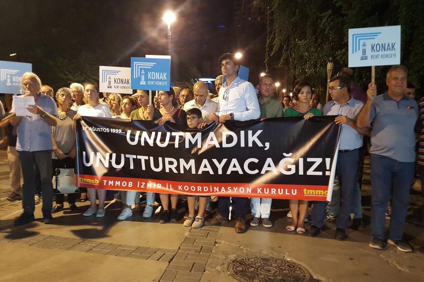 TMMOB İzmir İl Koordinasyon Kurulu depremlerle ilgili açıklama yaptı