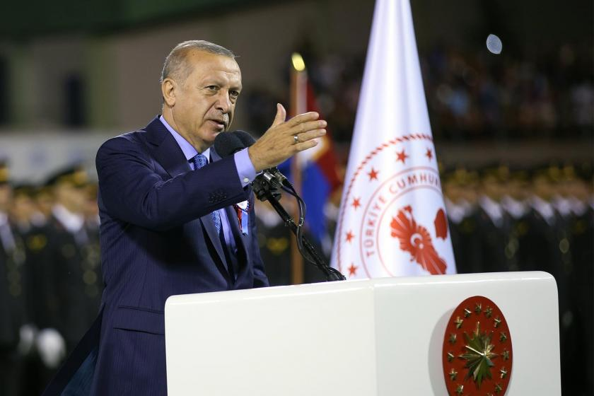 Erdoğan'dan belgesiz 'kayyum' savunması: Teröriste hizmet ediyorsa...