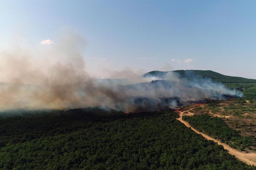 Bir günde 8 kentte 9 ayrı noktada orman ve makilikler yandı