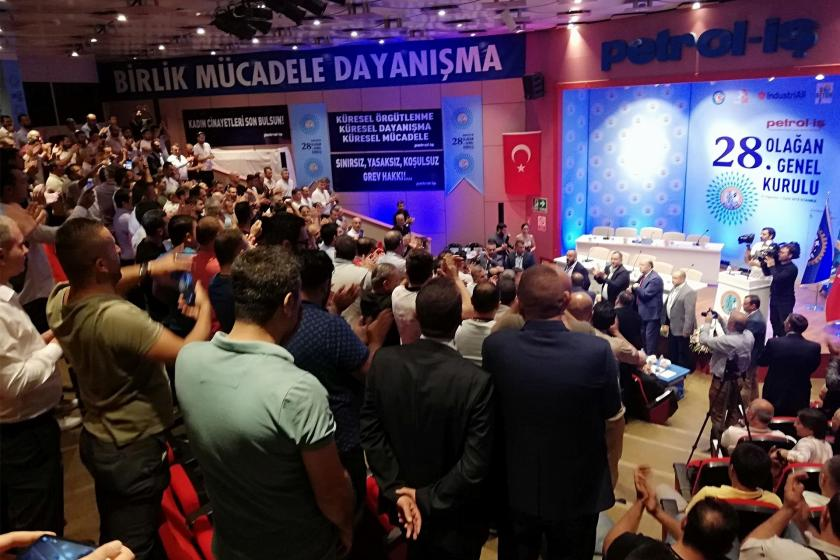 Petrol-İş'te yeni başkan Süleyman Akyüz