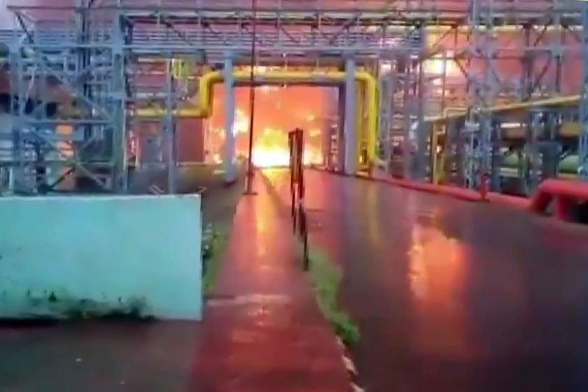 Hindistan'da akaryakıt tesisinde yangın: 4 ölü, 3 yaralı