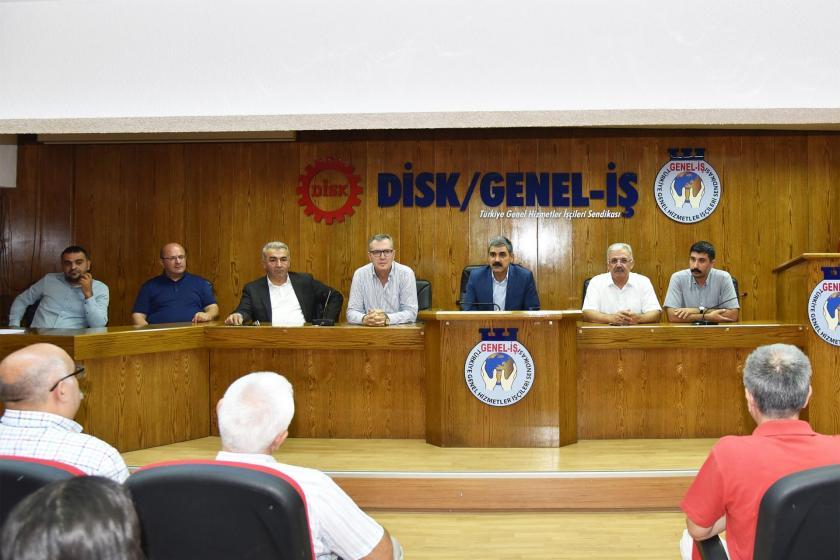 Genel-İş'in yeni yönetimi görev dağılımını yaptı