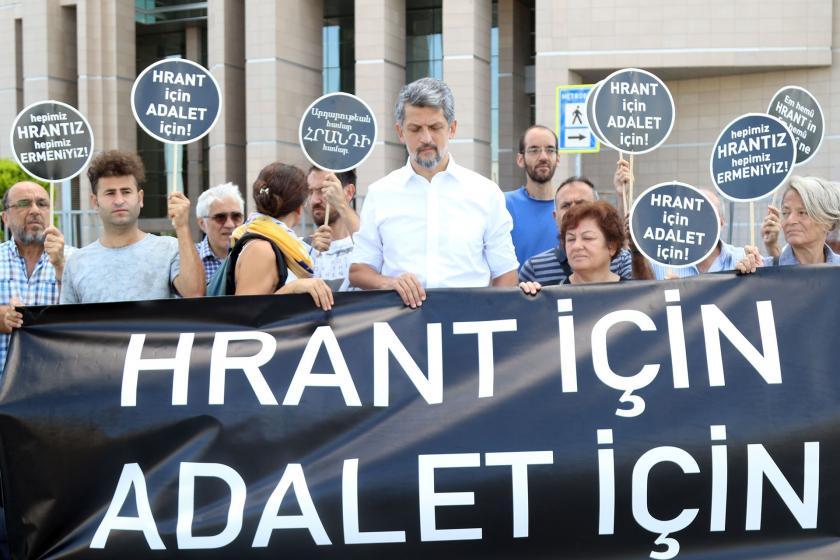 """Hrant Dink davasının 27. duruşması: """"Öldür"""" diyenler yargılansın"""