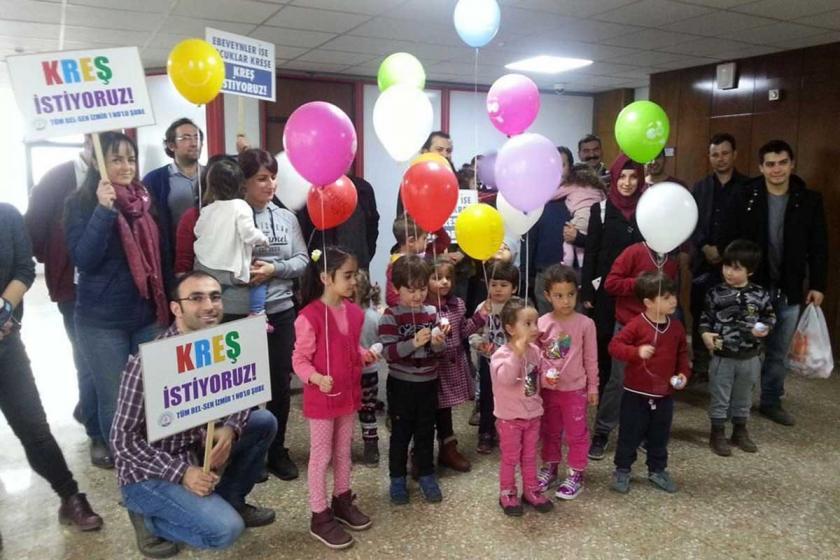 İzmir Büyükşehir Belediyesinde kreş için kollar sıvandı