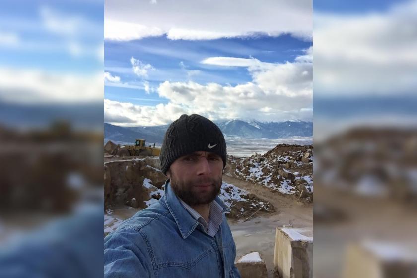 Üstüne kaya parçaları düşen mermer işçisi hayatını kaybetti