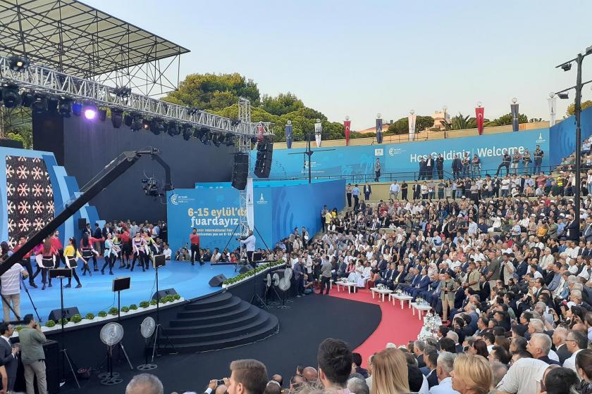 İzmir Enternasyonal Fuarı açıldı