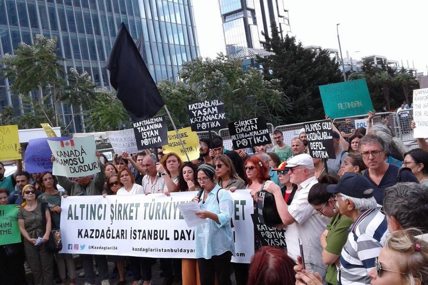 Kanada halkına Kaz Dağları direnişine destek olma çağrısı