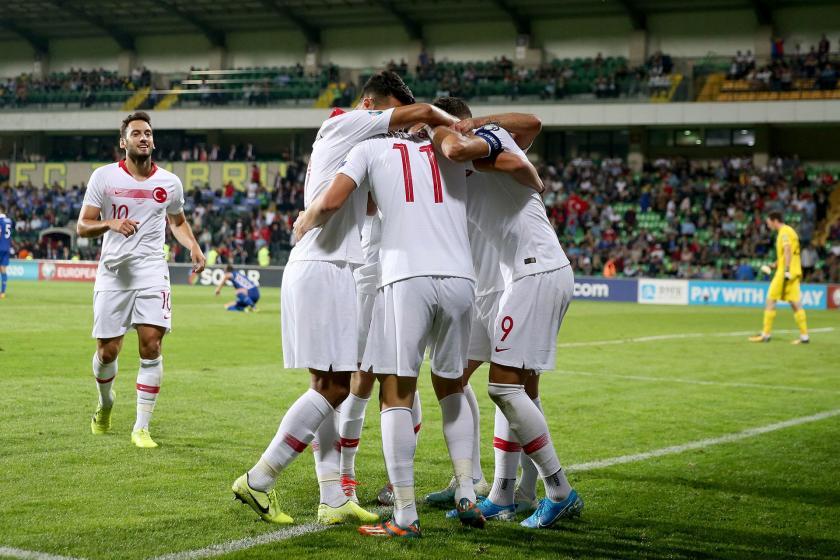 Türkiye A Milli Futbol Takımı, Moldova'yı 4-0 mağlup etti