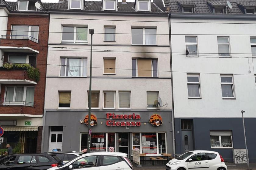 Almanya'da mültecilerin yaşadığı binada yangın: 1 ölü