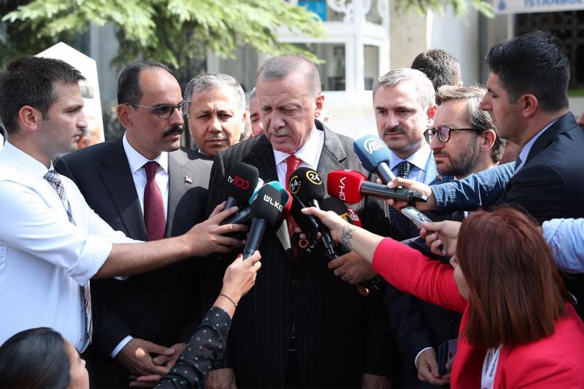 Tayyip Erdoğan, Kulp saldırısıyla ilgili HDP'yi hedef gösterdi