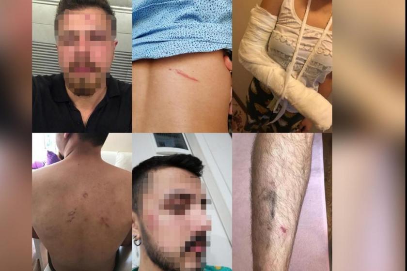 Bardan çıkarılan gençlere işkence iddiası