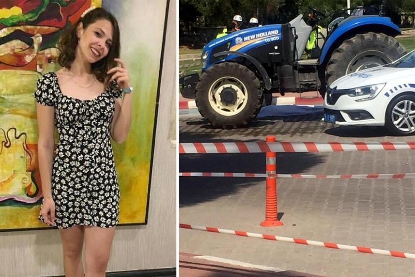Ege Üniversitesinde traktörün çarptığı Sezen Zambak hayatını kaybetti