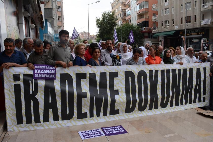 Diyarbakır'da kayyum eylemleri 30. gününü geride bıraktı