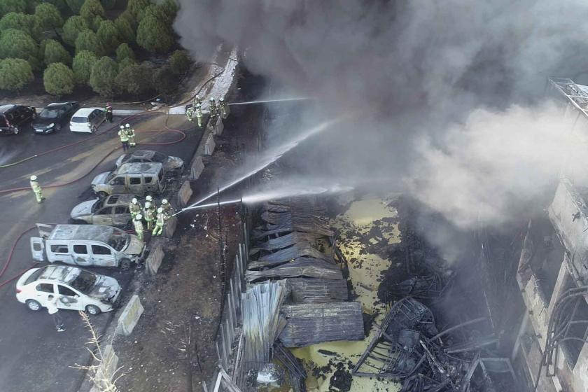 """""""Tuzla'daki fabrika yangını sonucu yağışların olağan dışı bir etkisi olmayacak"""""""