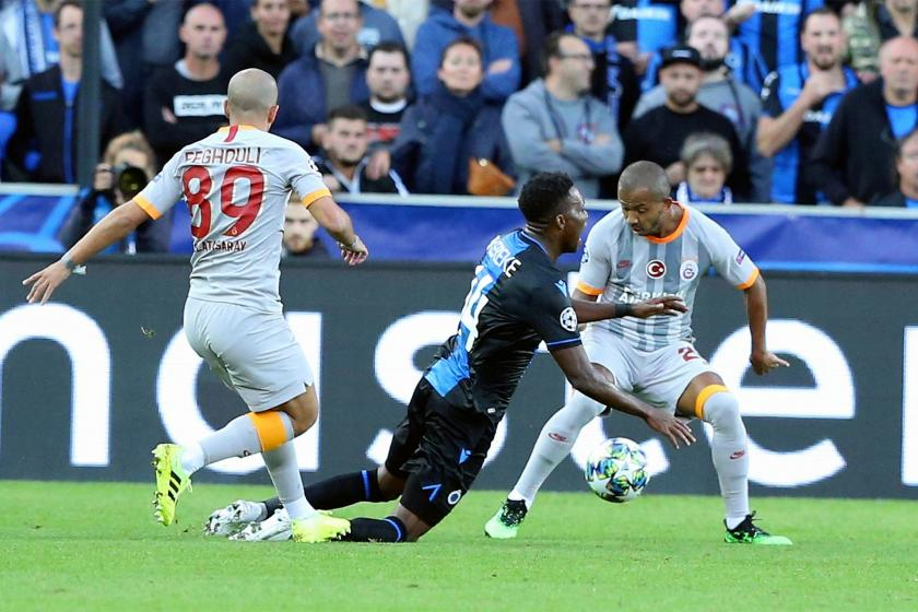Galatasaray deplasmanda Club Brugge ile 0-0 berabere kaldı