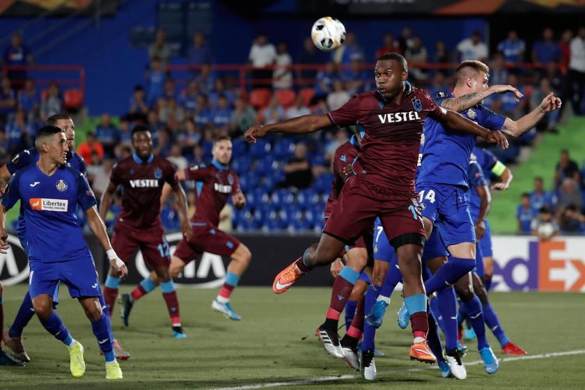 Trabzonspor, UEFA Avrupa Ligi'nde deplasmanda Getafe'ye 1-0 yenildi