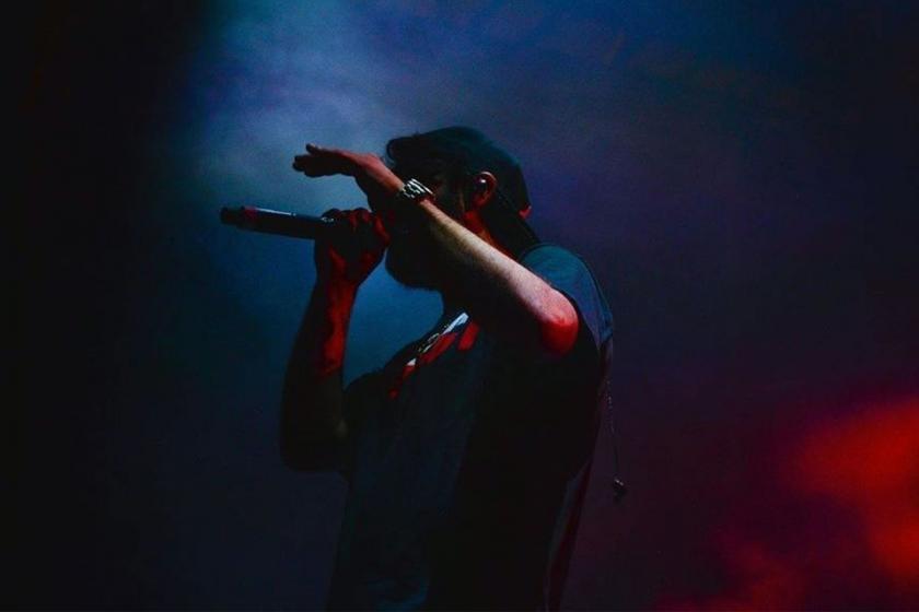 Rapper Şehinşah şarkı sözleri nedeniyle gözaltına alındı