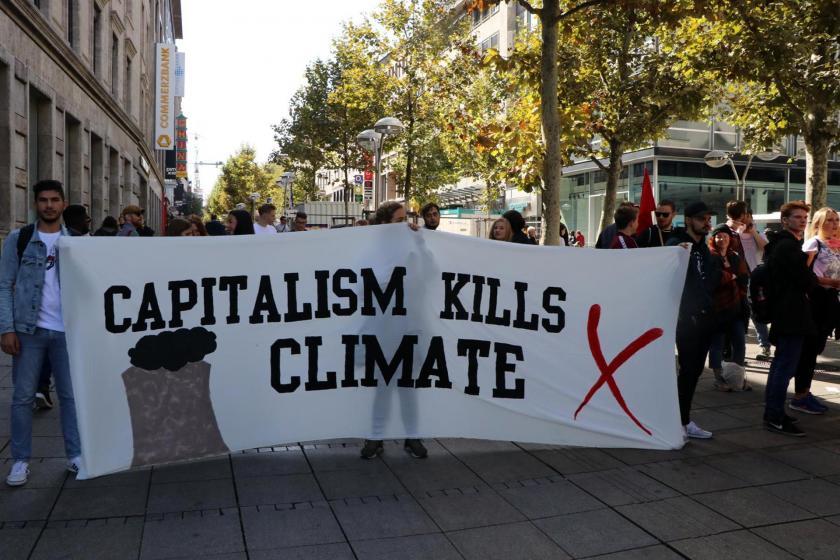 Stuttgart'taki küresel iklim eylemi: Günlerden güzel bir gün
