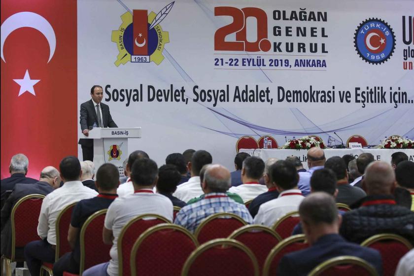 Basın-İş Sendikası 20. Olağan Genel Kurulu toplandı