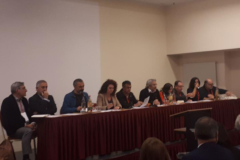 Berlin'de düzenlenen konferansta Türkiye'deki demokrasi sorunu tartışıldı