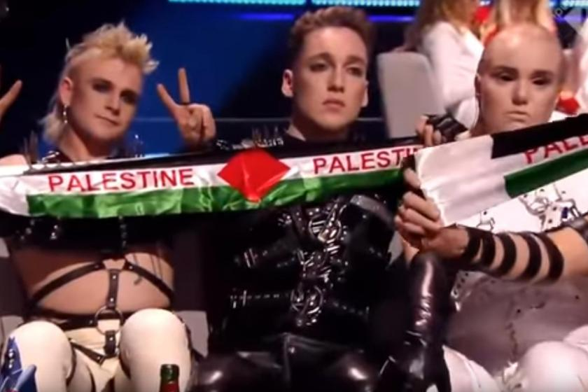 Avrupa Yayın Birliği, 'Filistin bayrağı' nedeniyle İzlanda'ya para cezası verdi