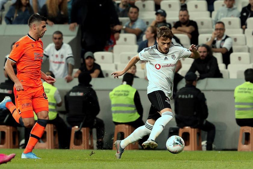 Beşiktaş ile Başakşehir 1-1 berabere kaldı