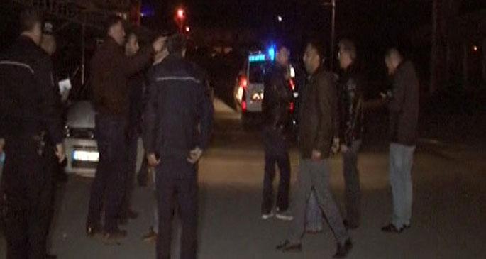 Yol kontrolü yapan polislere silahlı saldırı