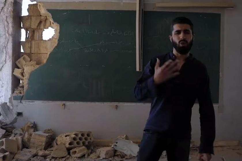 İdlibli rapper Amir Almuaari'den yabancı güçlere tepki: Çekin gidin!