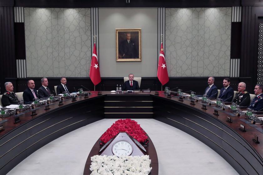 Milli Güvenlik Kurulu toplantısı Erdoğan başkanlığında yapıldı