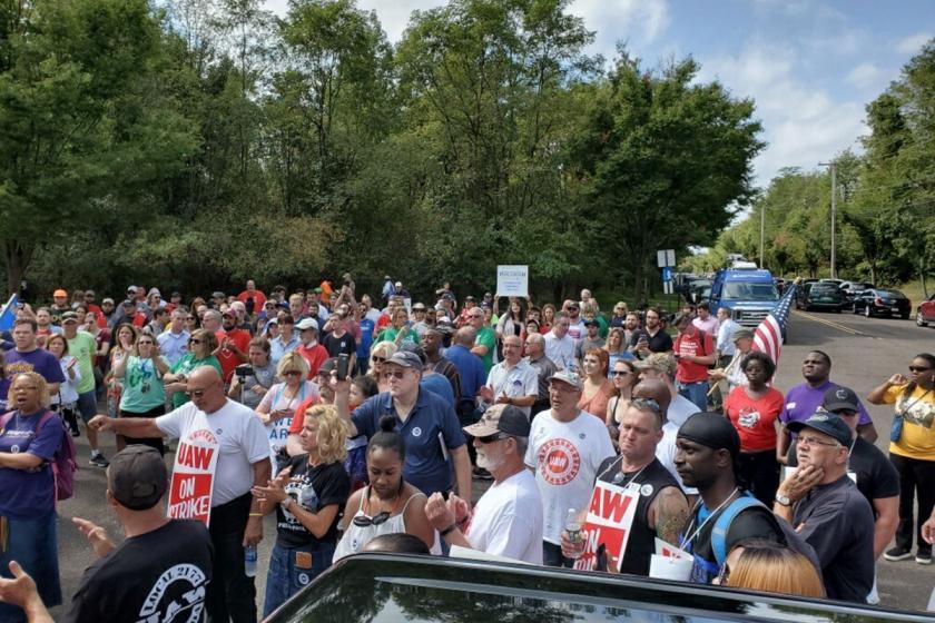 ABD metal grevinde üçüncü hafta: Moraller yüksek, dayanışma güçlü