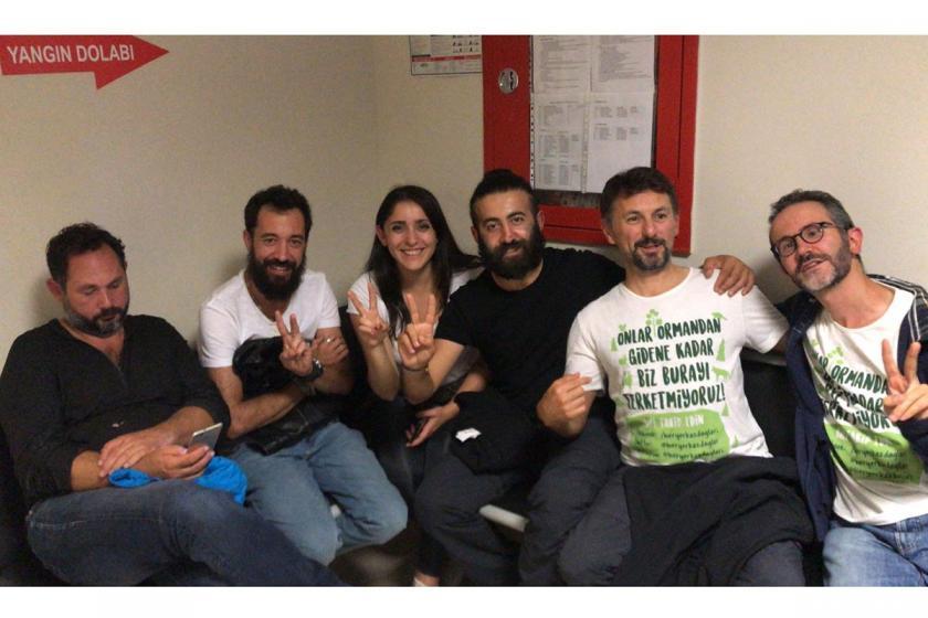Kaz Dağları için Ankara'ya yürürken gözaltına alınan 8 kişi serbest bırakıldı